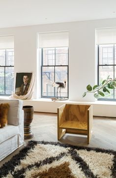 A fashion designer's New York City loft - Vogue Living