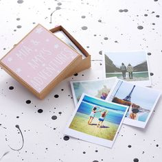Personalised Polaroids In A Box For Her