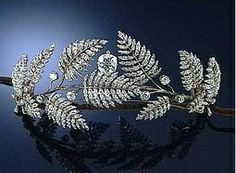 Diamond Fern Tiara