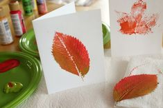 Crafting Projects with Fallen Leaves | Make and Takes