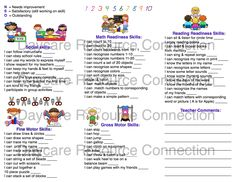 The Daycare Resource Connection Preschool Printable Daily Reports Booklet Template, Report Card Template, Templates Printable Free, Planner Template, Free Printables, Body Preschool, Free Preschool, Preschool Printables, Preschool Daily Report