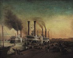 File:HVV Sebron Study for Giant Steamboats at the Sugar Landing.jpg