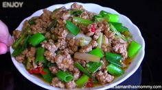 How to Make Quick & Easy Pork Stir-Fry with Green Onion Recipe