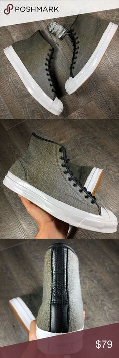 407f745f6b5f4e Converse Jack Purcell Signature Hi woolrich These are brand new in the  original box. Converse JP Signature Hi Men s shoes size Ships the next day  ...