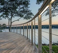 Top 70 Best Deck Railing Ideas - Outdoor Design Inspiration - Projects to try - Deck Railing Design, Deck Railings, Deck Design, Railing Ideas, Outdoor Handrail, Cable Railing, Bridge Design, Balcony Railing, Banisters