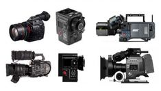 Thomas Fletcher and Gary Adcock& thorough camera comparison chart can help you choose what format to use for your production, whatever the size. Camera Comparison, Used Cameras, Anamorphic, Cinema Camera, Film School, Photo Equipment, Documentary Film, Cinematography, Filmmaking