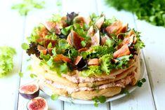 helppo tuulihattukakku Bruschetta, Fries, Food And Drink, Low Carb, Mexican, Keto, Snacks, Baking, Ethnic Recipes