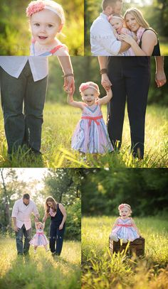 one year, one year old girl, photo shoot, one year shoot, baby girl, family of 3, golden hour, summer, sundress, photo jewels rockwall