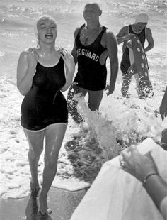 Marilyn on the set of Some Like It Hot, 1958.