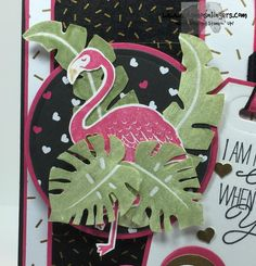 Stampin' Up! Pop of Pink Paradise for the Happy Stampers Blog Hop