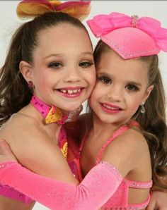 Maddie or Mackenzie? I need to say i like more maddie by dance way but i love mackenzie too... so i love them both <3 + they are sisiters  :)