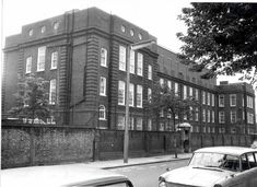 Ladbroke Lower School for Girls in 1970, formerly Lancaster Road School. photo RBKC.
