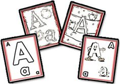 Alphabets Posters, Pictures and Flashcards