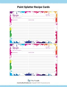 The cards are editable and can be filled out using Adobe Reader. Recipe Book Templates, Printable Recipe Cards, Printable Planner, Recipe Printables, Free Printable, Free Planner, Canning Labels, Pantry Labels, Canning Recipes