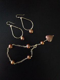 Chocolate Pearls. Yemaya Designs Hawaii. www.etsy.com/shop/yemayadesignshawaii