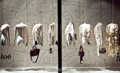 Hanging Handbags Harrods London Mannequin Trends 2014 August by WindowsWear