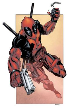 The Merc With A Mouth, Deadpool by Robert Atkins #deadpool   #marvelcomics   #merc