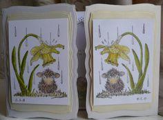 Reverse Stamped Gatefold Card by Sheila Weaver