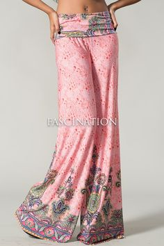 Clothing - Juniors Coral Palazzo Pants