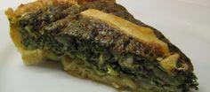 Spinazie Quiche (open Spanakopita) recept   Smulweb.nl