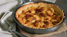 Tarte rustique aux pommes caramélisées