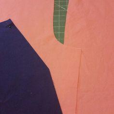 Purple n Coral scrub pants cut out!