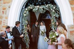 Victoria & Christoph's wedding styled by Gather