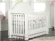 Sugar and Spice...and Everything Nice. The Everything Nice Collection is the first of its class to convert all the way into a Queen-sized bed. The Sugar crib offers a solid, curved headboard that adds character to your nursery. The Spice crib, on the other hand, features a straight, frame headboard and intricate curves on the side of the crib making this crib a statement in your nursery. The Spice headboard is also reversible so that no other holes are visible during the adult-bed stage.