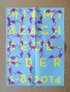 ART BASEL MIAMI by Yuval Cohen Golan, via Behance