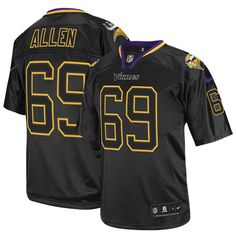 shop the official Vikings store for a Men's Nike Minnesota Vikings #69 Jared Allen Limited Lights Out Black Jersey in the latest styles available online and in stores. Size: S,M 40,L 44,XL 48,XXL 52,XXXL 56,XXXXL 60.Totally free shipping and returns. $89.99