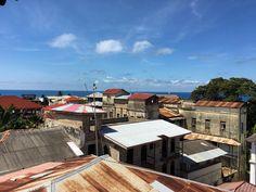 Breakfast view #Zanzibar #stonetown