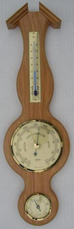 WSE blankeiken banjo-barometer