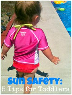 Great products for toddler sun safety #GrabSummerFun