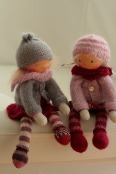 Knitted Waldorf doll by Peperuda dolls | Flickr - Photo Sharing!