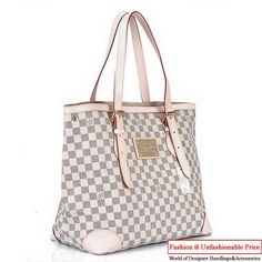 9fb3144e4402 Louis Vuitton Damier Azur Canvas Hampstead MM N51206 Louis Vuitton Hat