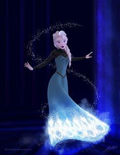 Frozen - Elsa by Mongoft on DeviantArt - I recently discovered I have cold powe. - Frozen – Elsa by Mongoft on DeviantArt – I recently discovered I have cold powers. Frozen Disney, Elsa Frozen, Walt Disney, Princesa Disney Frozen, Frozen And Tangled, Disney Love, Disney Magic, Disney Art, Frozen 2013