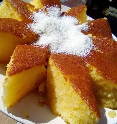 Greek Sweets, Greek Desserts, Greek Recipes, Gluten Free Apple Crisp, Cornbread, French Toast, Cheesecake, Deserts, Dessert Recipes