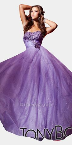 Shimmering Ball Gowns by Tony Bowls at eDressMe