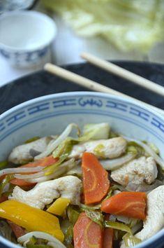Tjap Tjoy Asian Recipes, Ethnic Recipes, Plant Based Recipes, Wok, Food Inspiration, Thai Red Curry, Potato Salad, Paleo, Meals