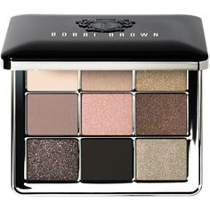 Bobbi Brown Eye Palette, Sterling Nights Collection ($75) ❤ liked on Polyvore featuring beauty products, makeup, eye makeup, eyeshadow, no color, sparkle eyeshadow, matte palette eyeshadow, metallic eyeshadow, bobbi brown cosmetics and matte eyeshadow