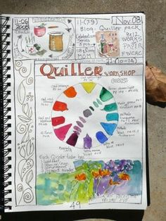 I like the colors - great inspiration for my quilt journal