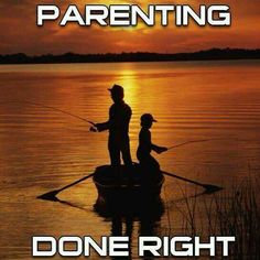 Fishing done right! Take a child with you:).... www.bestbuddyfishing.com