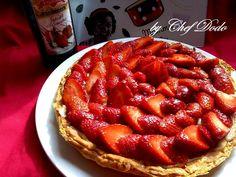 Tarte aux fraises sur pâte feuilletée | Chef Dodo