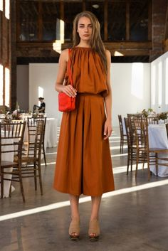 culottes by Rachel Comey Spring/Summer 2014 New York Fashion, Love Fashion, Fashion Show, Spring Fashion, Fashion Trends, Rachel Comey, How To Wear Culottes, New Yorker Mode, Vogue