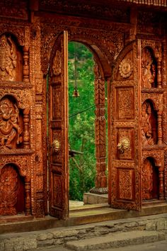 Portal At Kamru Fort in Kinnaur, Himalaya  | India Incredible