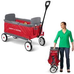 Radio Flyer EZ Fold Wagon for Kids - Walmart.com