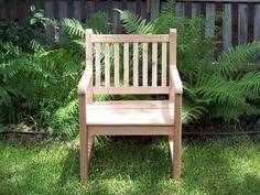 Handcrafted Western Red Cedar Garden Chair, Outdoor Furniture        | creationsbyeric - Furniture on ArtFire