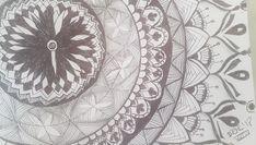 Mandala #mandala #zentangleart zentangle