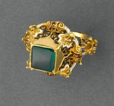 How Make Gold Jewelry Code: 2619411663 Vintage Gold Rings, Antique Rings, Antique Jewelry, Vintage Jewelry, Renaissance Jewelry, Ancient Jewelry, Victorian Jewelry, Gold Finger Rings, Enamel Jewelry
