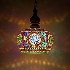 Onwijs 19 beste afbeeldingen van Mozaiek lampen - Mosaic lighting in 2018 QA-36
